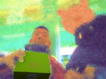 20190209新宿にてモッコリ!(笑)イケメンガチムチ太目君と初リアル&二丁目バー回り誕生日お祝い&彼氏とちょっと早めのヴァレンタイン&ホワイトデイプレゼント交換 その4