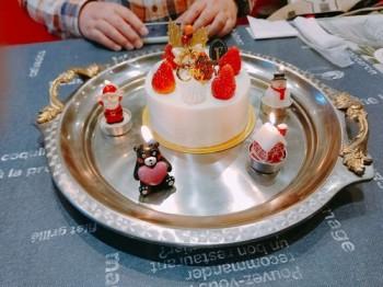 20201226一日遅れの彼氏とのラ〜ブラブクリスマスランチデート その2
