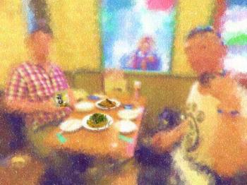 20170610アニソン好きな可愛い太目の兄貴と上野でディナー&おわん その1