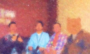 20200112新年初ハーレム4Pランチ&カラオケパーティー その1