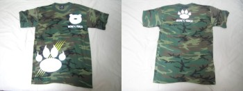 BEAR'S TRACK Tシャツ