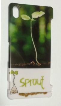オーダーメイド「sprout」ロゴ入りスマホハードケース