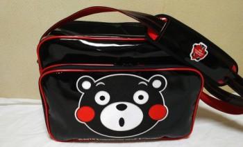 くまモンエナメルスポーツバッグ